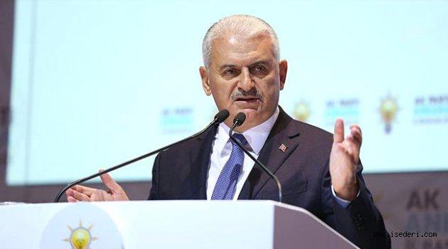 Başbakan Yıldırım'dan Muhalefete Anayasa Çağrısı