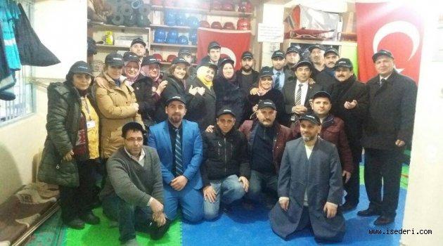 İstanbul Esnaf Ve Sanatkarlar İş Adamlari Dernegi İsederi Genel Baskanı Mustafa ŞEKER Yarkur