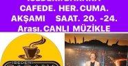 İSEDERİ BARAKA CAFE'DE OĞUZ GÜVEN TÜRK SANAT MÜZİĞİ PROGRAMI'