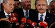 Kılıçdaroğlu ve Bahçeli'den Atatürk Havalimanı'ndaki saldırıya tepki